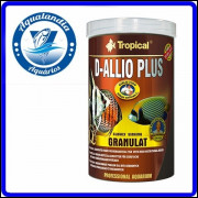Ração D-allio Plus Granulat 600g Tropical