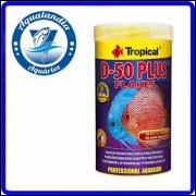 Ração D-50 Plus Flakes 50g Tropical