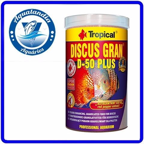 Ração Discus Gran D-50 Plus Baby 52g Tropical