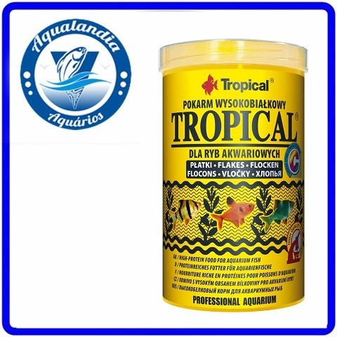 Ração Tropical Flakes 50g Tropical