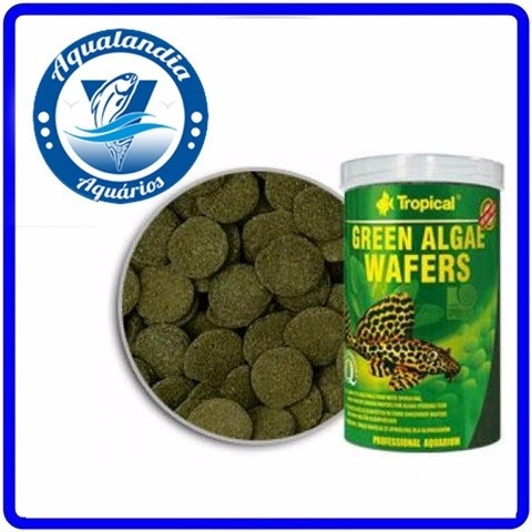 Ração Green Algae Wafers 45g Tropical