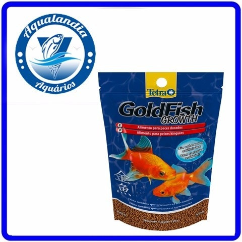 Ração Tetra Goldfish Growth Pellets Sem Corantes 40g