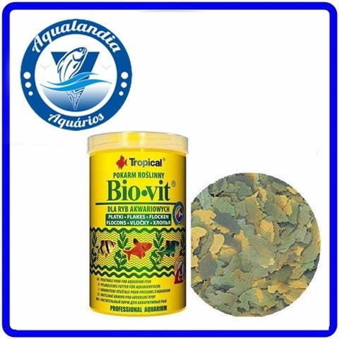 Ração Bio-vit 20g Tropical Biovit
