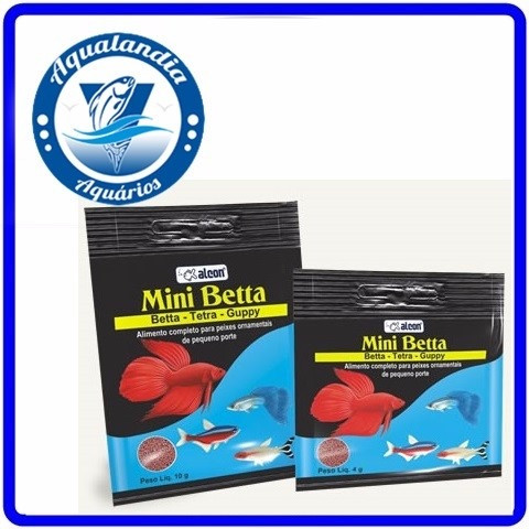 Ração Alcon Mini Betta 04grs Alcon