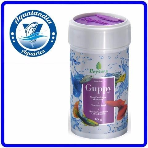 Ração Para Guppy Premium 65grs
