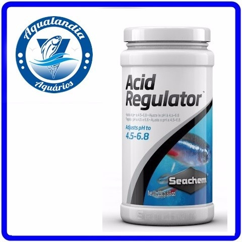 Regulador Acid Regulator 250g Seachem