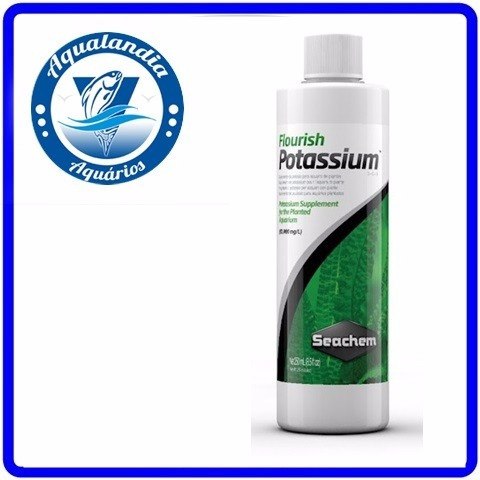Fertilizante Flourish Potassium 250ml Seachem