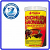 Ração Cichlid & Arowana Medium Sticks 360g Tropical