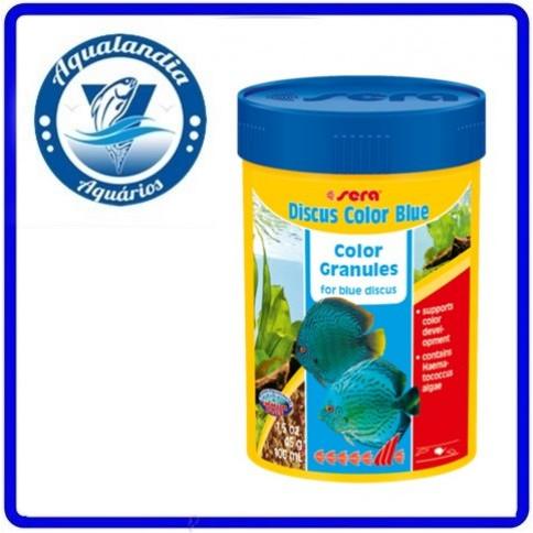 Ração Sera Discus Color Blue Granulat 116grs