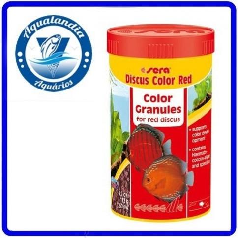 Ração Sera Discus Color Red Granulat 116grs