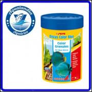 Ração Sera Discus Color Blue Granulat 48grs