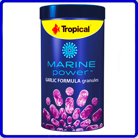 Tropical Ração Marine Power Garlic Granulat 600g
