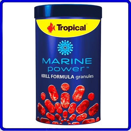 Tropical Ração Marine Power krill Granulat 150g