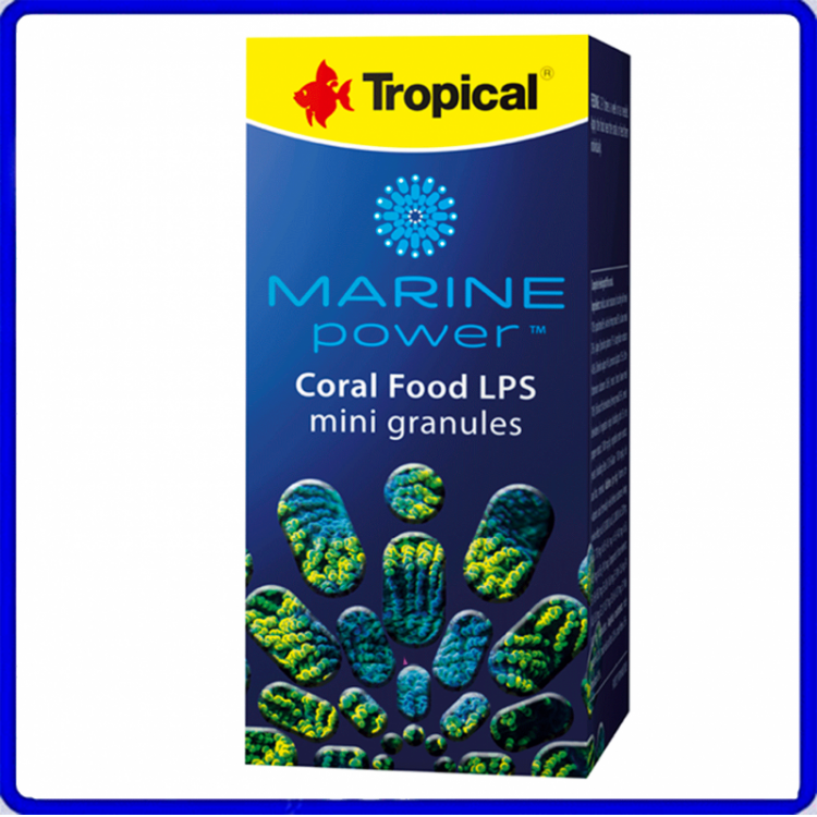 Tropical Ração Marine Power Coral Food LPS Mini Granulat 70g
