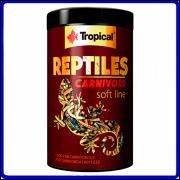 Tropical Ração Soft Line Reptiles Carnivore 260g