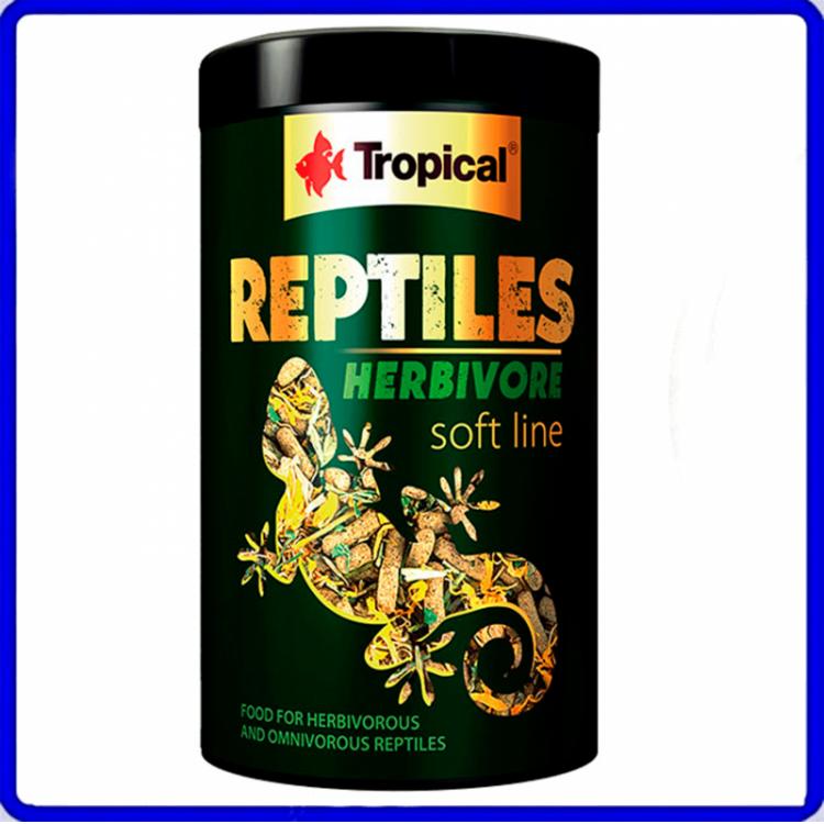 Tropical Ração Soft Line Reptiles Herbivore 260g