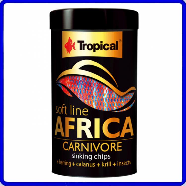 Tropical Ração Soft Line Africa Carnivoros 52g