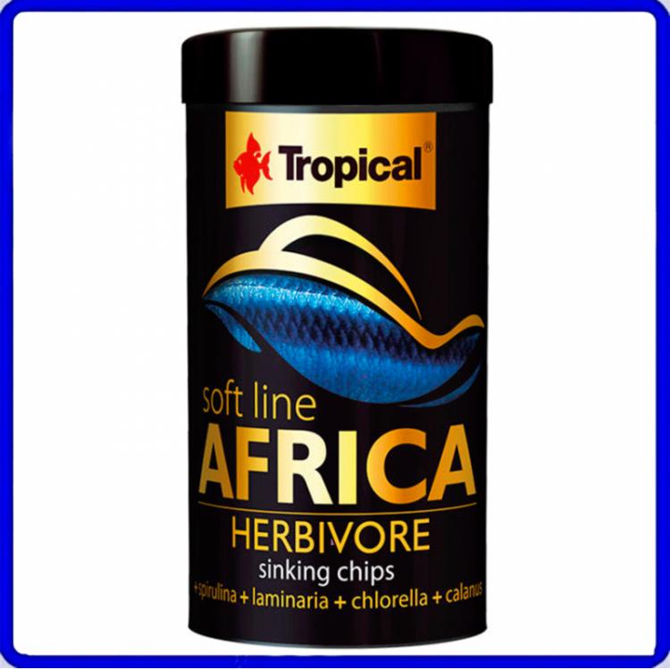 Tropical Ração Soft Line Africa Herbivore 130g
