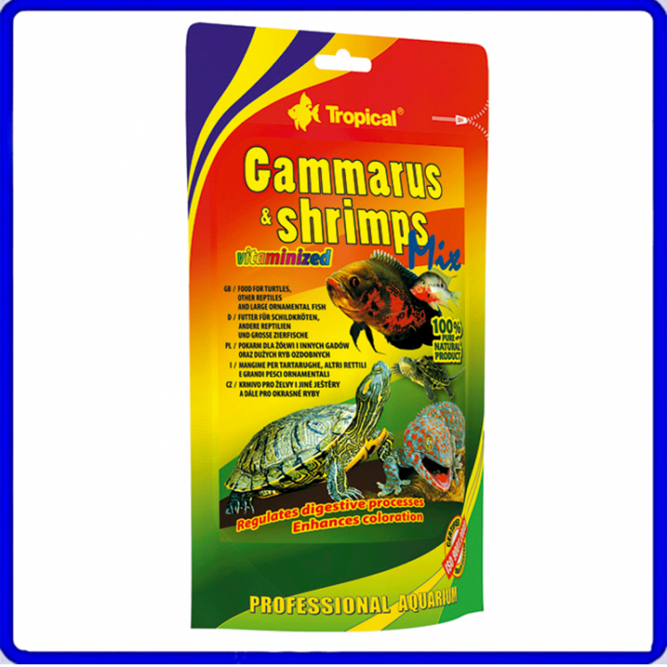 Tropical Ração Gammarus Shrimp Mix 20g