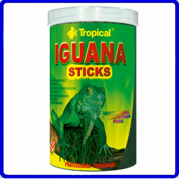 Tropical Ração Iguana Sticks 65g