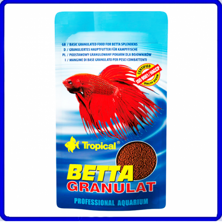 Tropical Ração Betta Granulat 5g