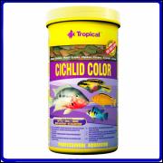 Tropical Ração Cichlid Color 50g