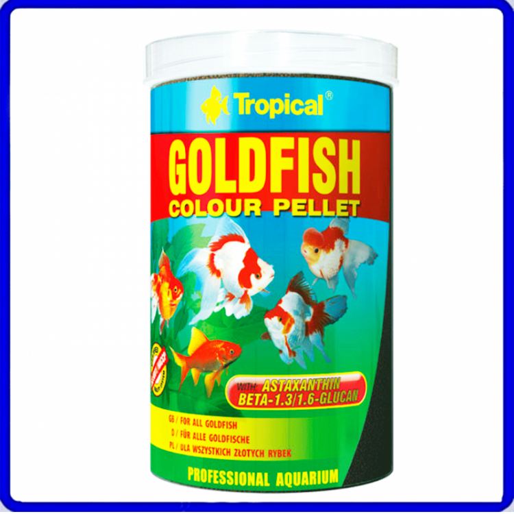 Tropical Ração Goldfish Colour Pellet 90g