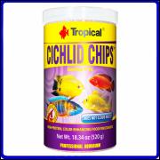 Tropical Ração Cichlid Chips 130g