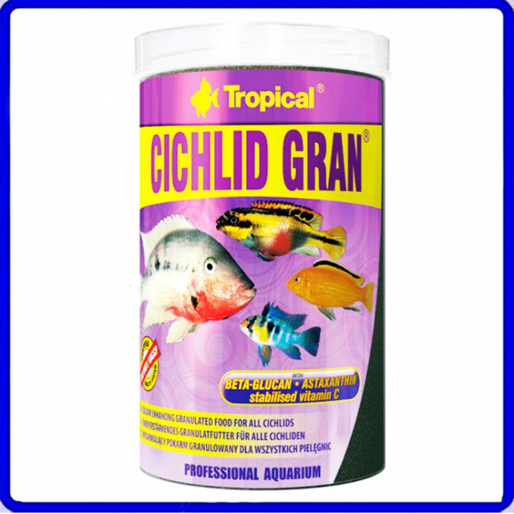 Tropical Ração Cichlid Gran 550g