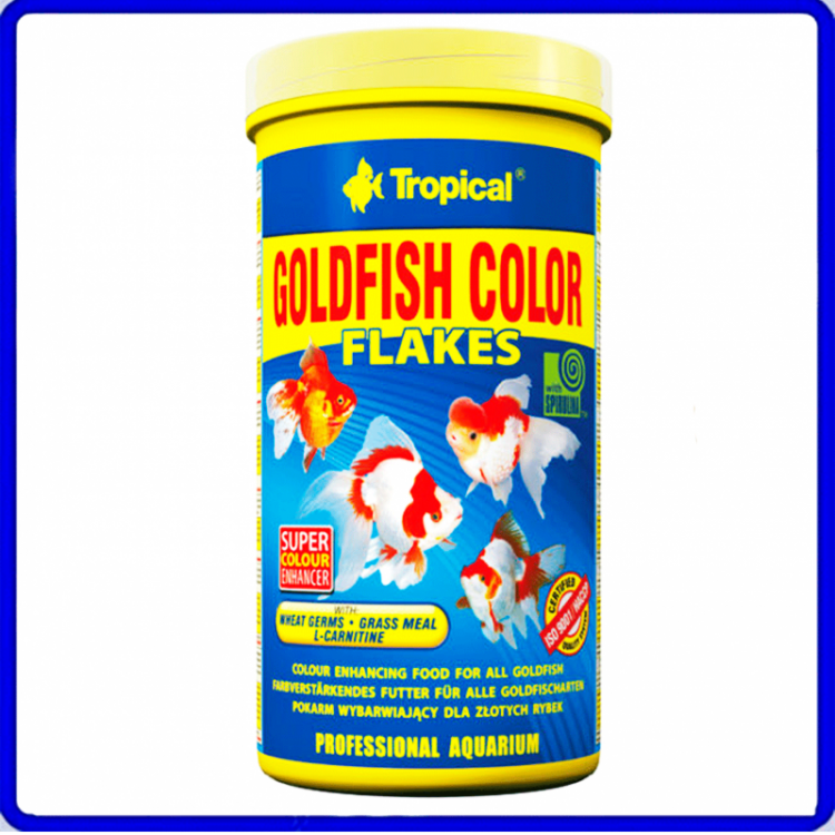Tropical Ração Goldfish Color 100g
