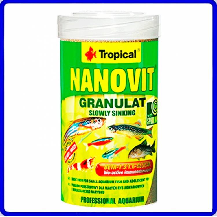 Tropical Ração Nanovit Granulat 70g