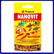 Tropical Ração Nanovit Tablet Sache 10g