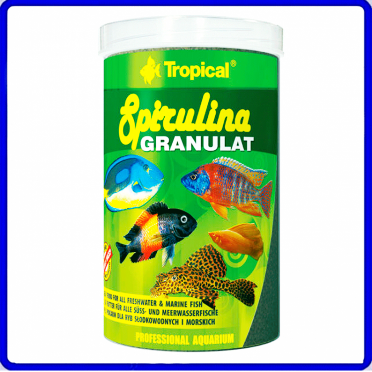 Tropical Ração Spirulina Granulat 110g