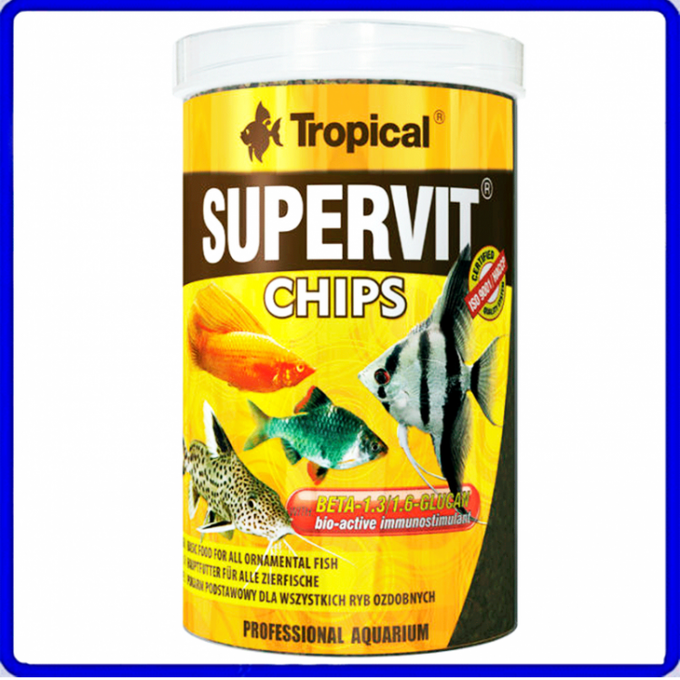 Tropical Ração Supervit Chips 52g