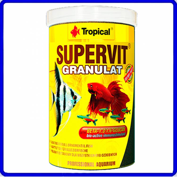 Tropical Ração Supervit Granulat 550g