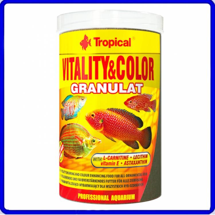 Tropical Ração Vitality & Color Granulat 138g