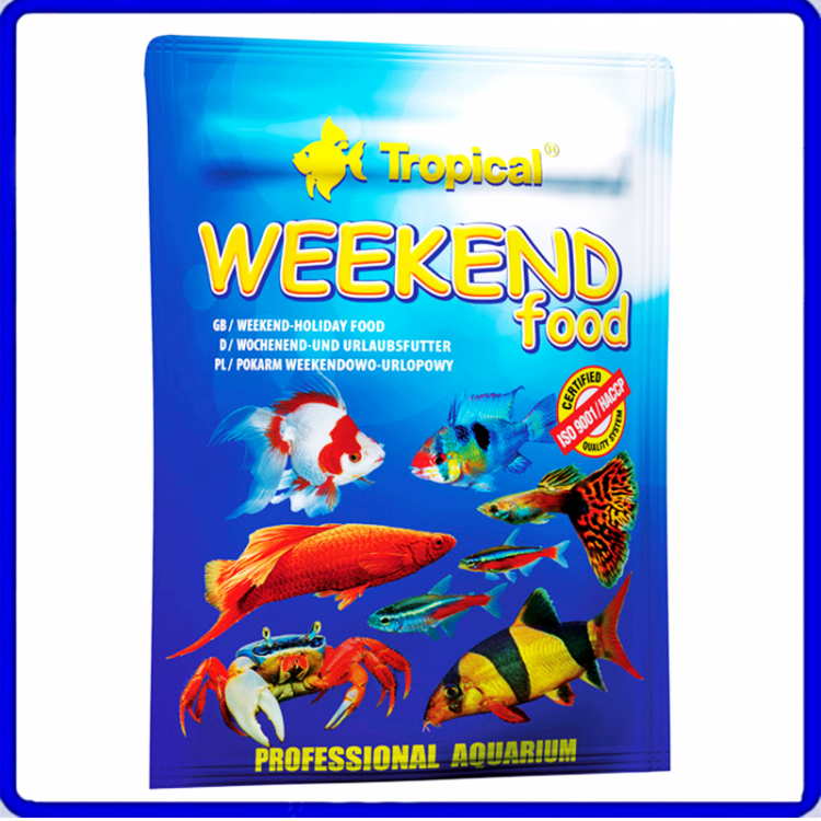 Tropical Ração Weekend Food 20g