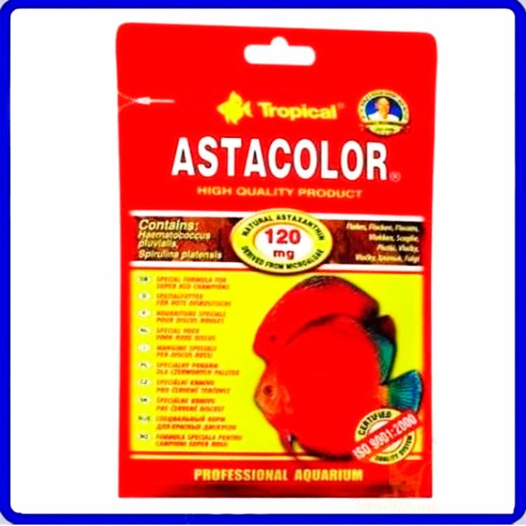 Tropical Ração Astacolor 12g Sache