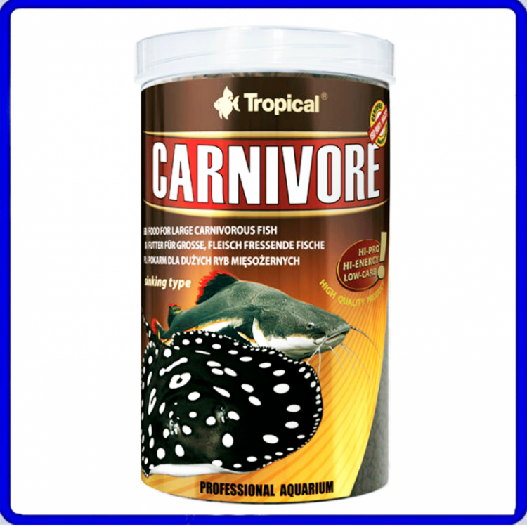 Tropical Ração Carnivore 600g