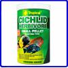 Tropical Ração Cichlid Herbivore Small Pellet 90g
