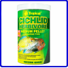Tropical Ração Cichlid Herbivore Medium Pellet 180g