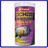 Tropical Ração Cichlid Omnivore Medium Pellet 360g