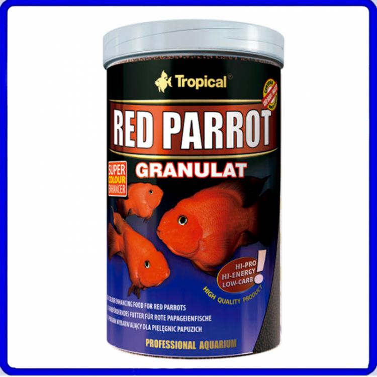 Tropical Ração Red Parrot Granulat 100g