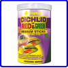 Tropical Ração Cichlid Red & Green Medium Stick 90g