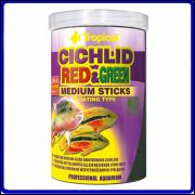 Tropical Ração Cichlid Red & Green Medium Stick 360g