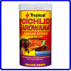 Tropical Ração Cichlid & Arowana Medium sticks 90g