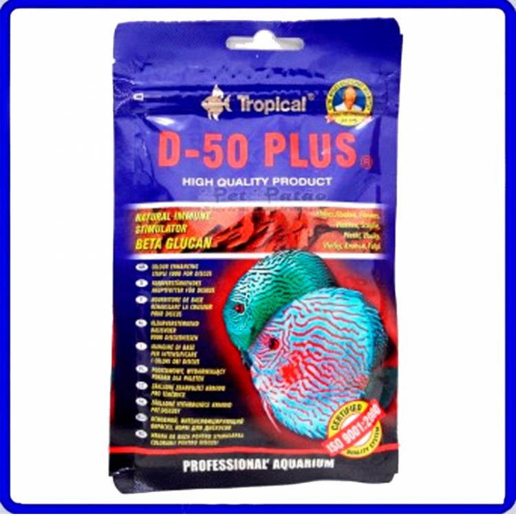 Tropical Ração D-50 Plus Flakes 12g Sache