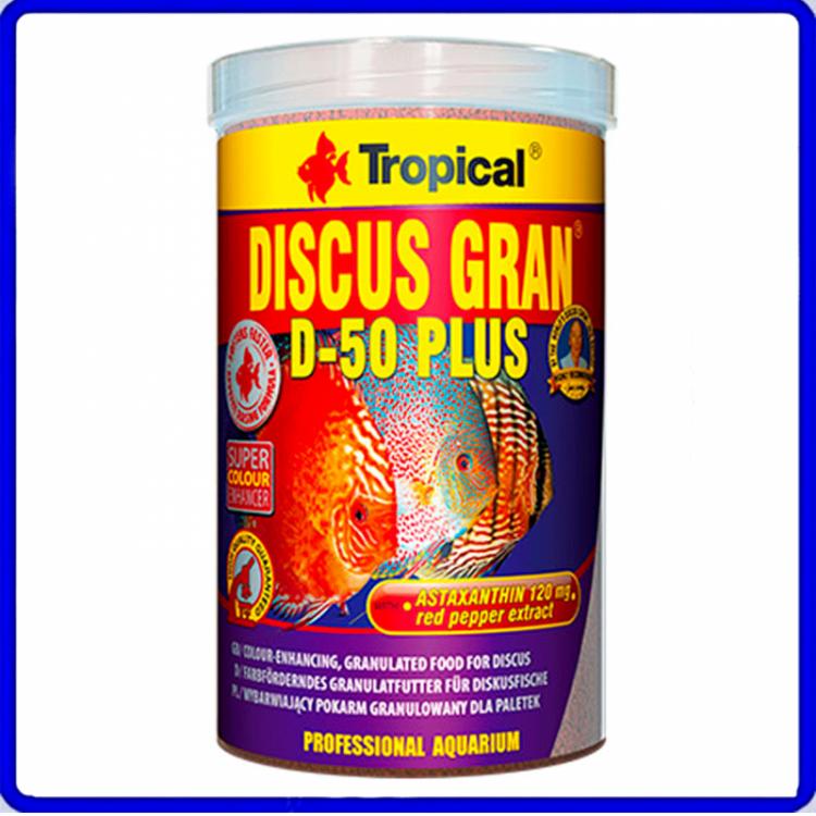 Tropical Ração Discus Gran D-50 Plus 220g