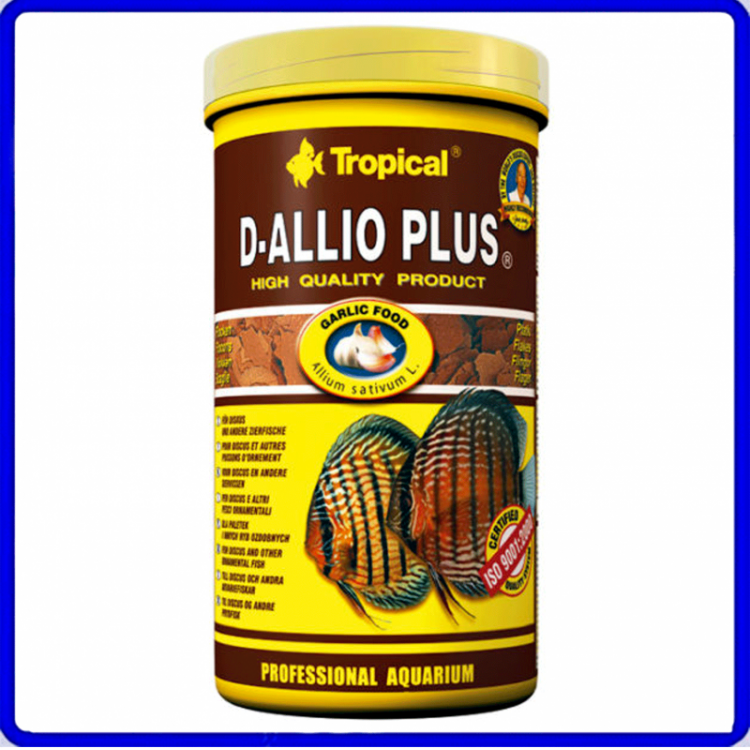 Tropical Ração D-Allio Plus 100g