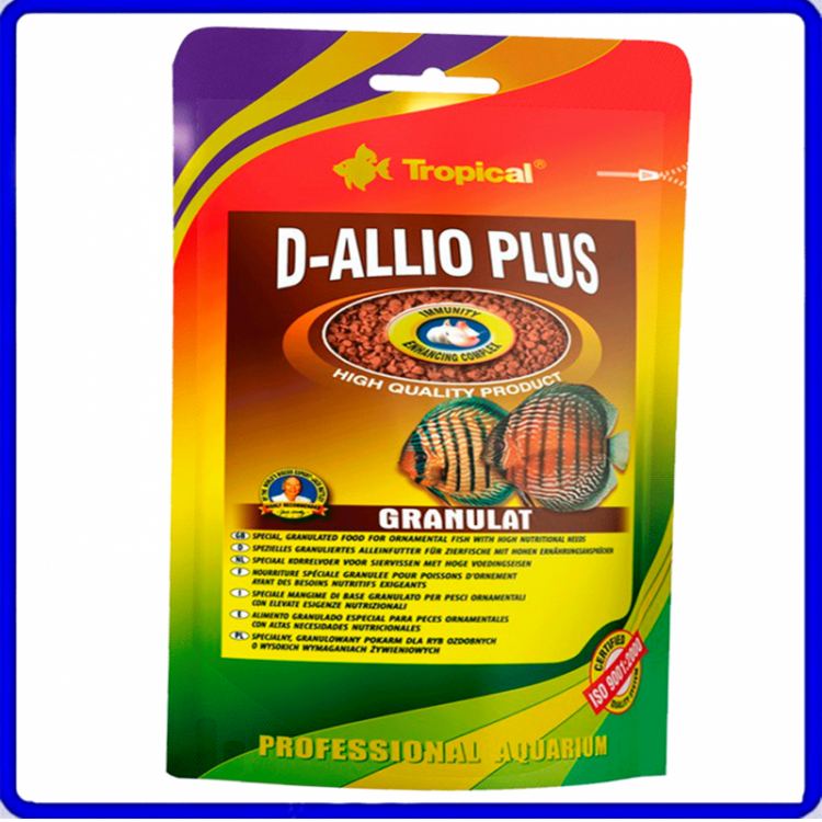 Tropical Ração D-Allio Plus Granulat 450g Sache